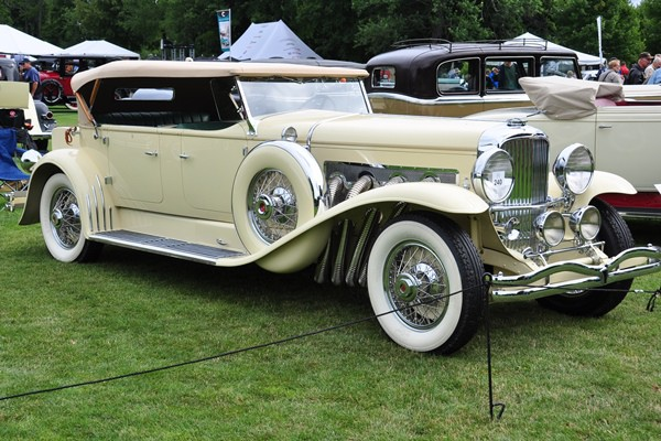 1931 Duesenberg Derham Tourster Joseph and Margie Cassini, III