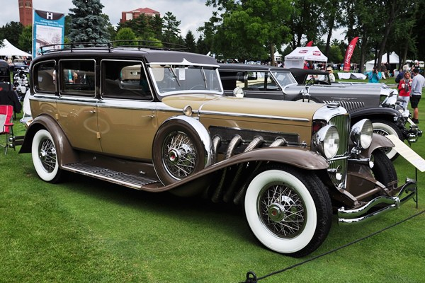 1934 Duesenberg Continental Touring by Berline George Dragone