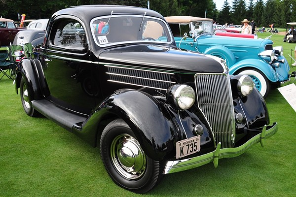 1936 Ford Deluxe Three-Window Coupe Gary T. Ridell