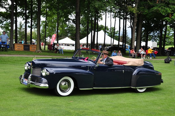 1942 Lincoln Continental Cabriolet David W. Johnson
