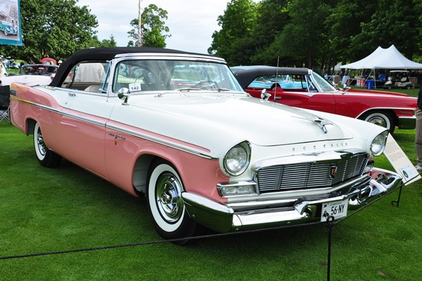 1956 Chrysler New Yorker Convertible John R. and Lynne K. Cote