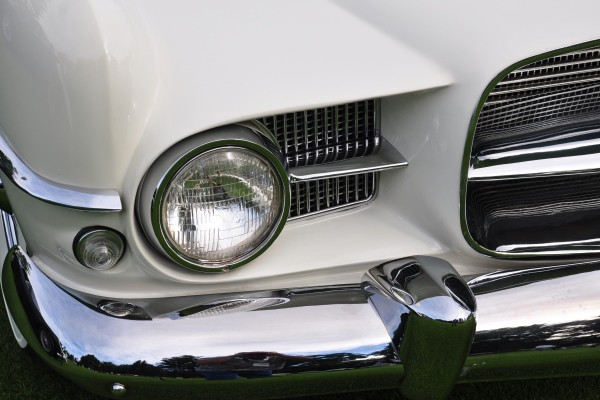 1957 Dual Ghia Convertible Neal and Lois Porter headlamp