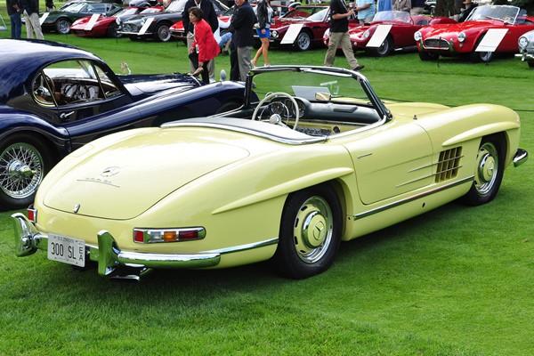 1957 Mercedes-Benz 300SL Roadster Philip Brown