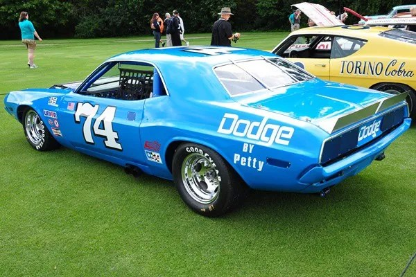 1972 Dodge Challenger kit car Edward Bryan Skales rear