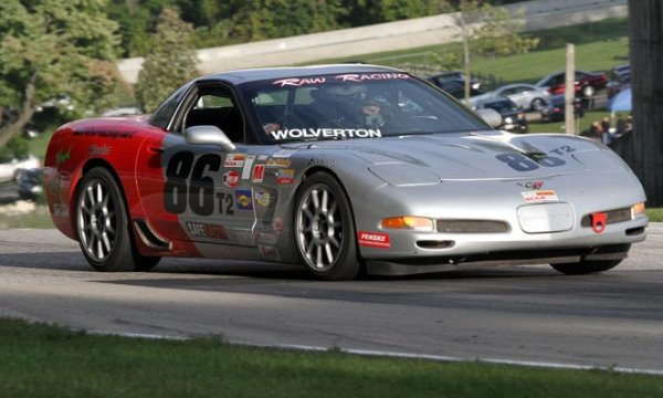 Andy Wolvertion Chevrolet Corvette C5 Touring 2