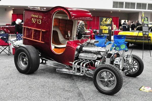 1968 Chuck Miller C-Cab Ford Fire Truck