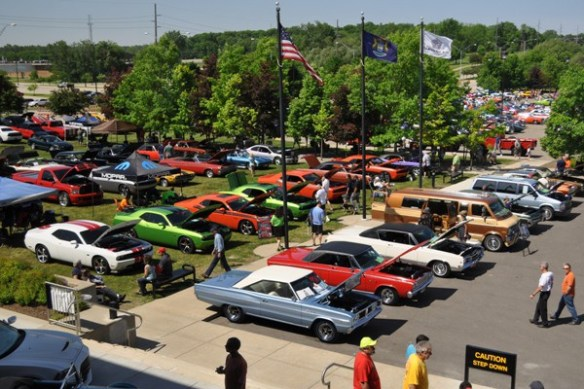 Cema Car Show Mac 39 S Motor City Garage