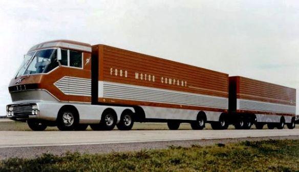 Big Red turbine truck