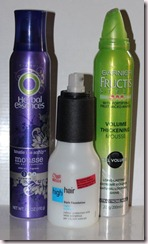 Garnier XXL Volume Herbal Essences Tousle Me Softly Mousse Wella High Hair Style Foundation