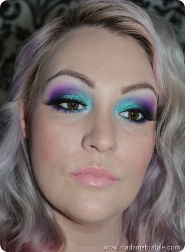 aqua purple eye makeup sugarpill
