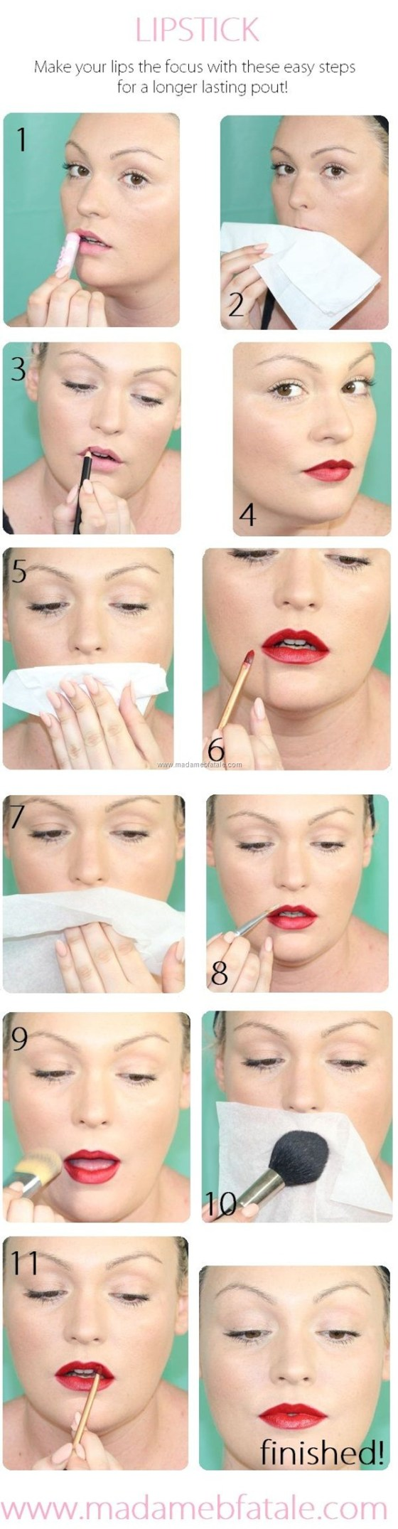 long lasting red lipstick