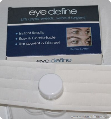 eye define packaging
