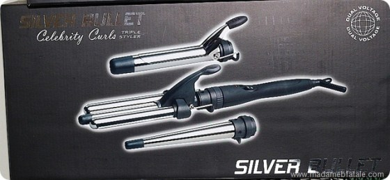 silver bullet celebrity curls triple styler package