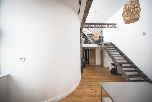 Nouvel agencement d'un loft