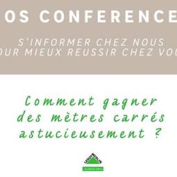 Conférence : comment gagner des m2? chez Leroy Merlin V2