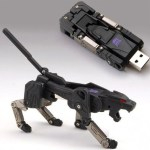 Pendrive de Ravage de Transformers, ultra cool!