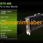 "Nvidia GeForce GTX 480 ""Fastest GPU in the World"""