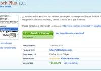 Adblock Plus, conocido add-on de Firefox alcanza los 100 millones de descargas