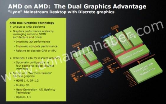 """AMD prepara """"Dual Graphics Technology"""" para AMD Llano"""