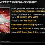 CES2012: AMD Trinity ULV de 17W apunta a los Ultrabooks