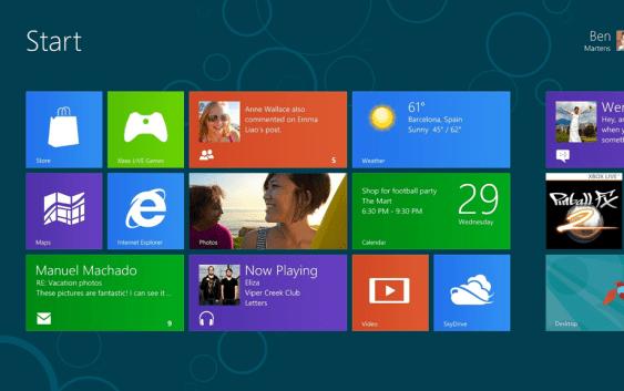 Rumor: Microsoft podría traer de vuelta el botón inicio a Windows 8?