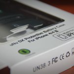Mini-Review uNu Power DX External Protective Battery Case para iPhone 4/4s
