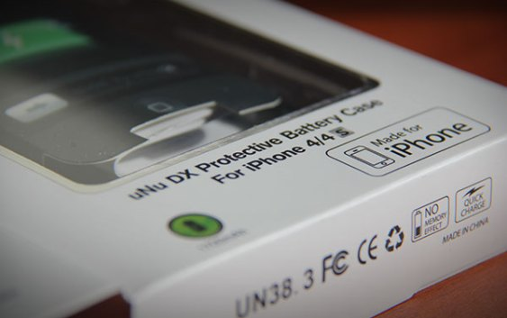 Mini-Review uNu Power DX External Protective Battery Case para iPhone 4/4s