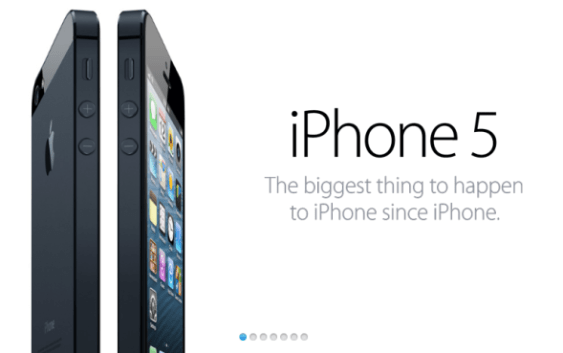 Apple presenta oficialmente su nuevo iPhone 5