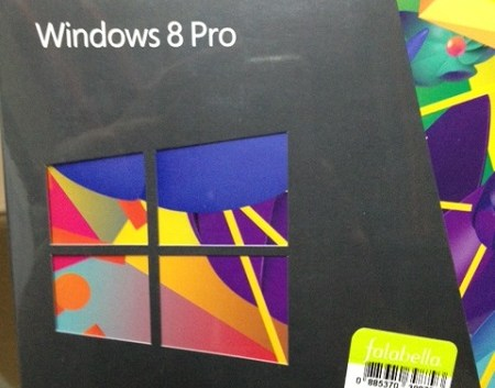 Windows 8 en Chile a $39.990