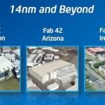 Intel comenzará este año la producción de sus primeros chips a 14nm