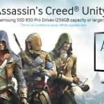 Samsung regalará Assassin's Creed Unity por la compra de un SSD 850 PRO o Monitor UHD