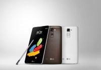 MWC16: Nuevo LG Stylus 2 es presentado en Mobile World Congress 2016