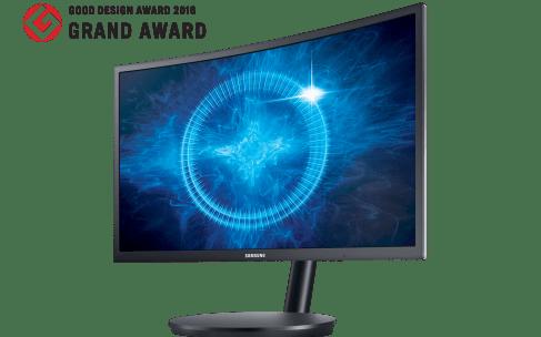 Samsung Electronics lanza monitor curvo para videojuegos