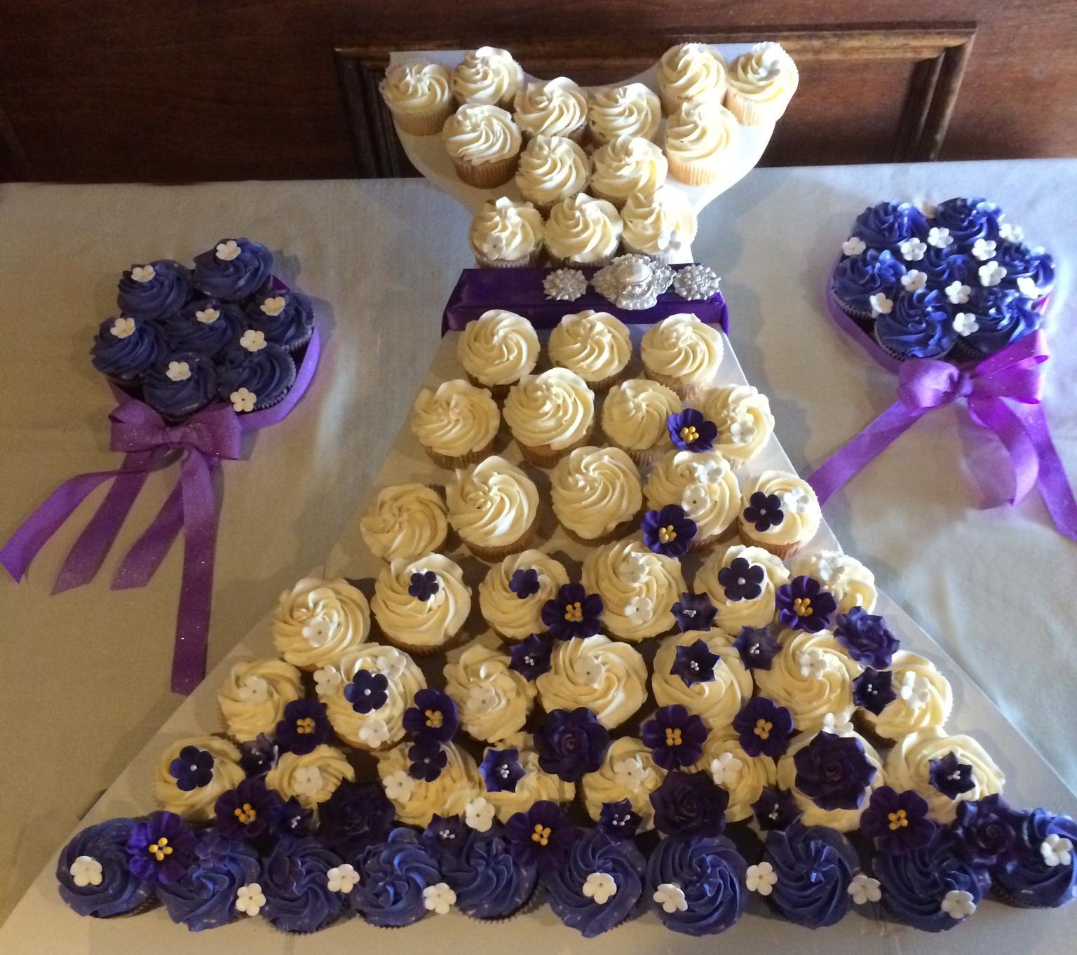 Fullsize Of Bridal Shower Cupcakes