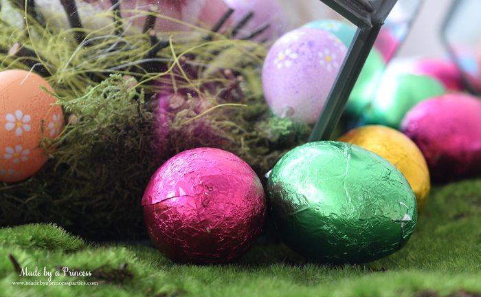 asy Easter Entertaining Ideas chocolate eggs