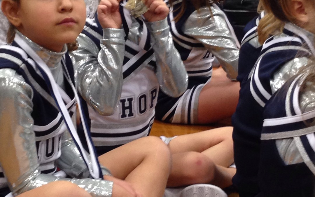 My first cheer competition