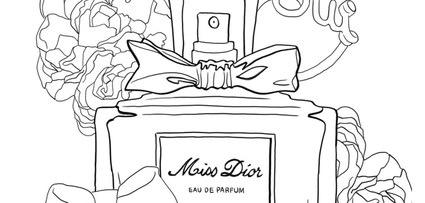 Coloriage : Miss Dior I Mademoiselle Stef