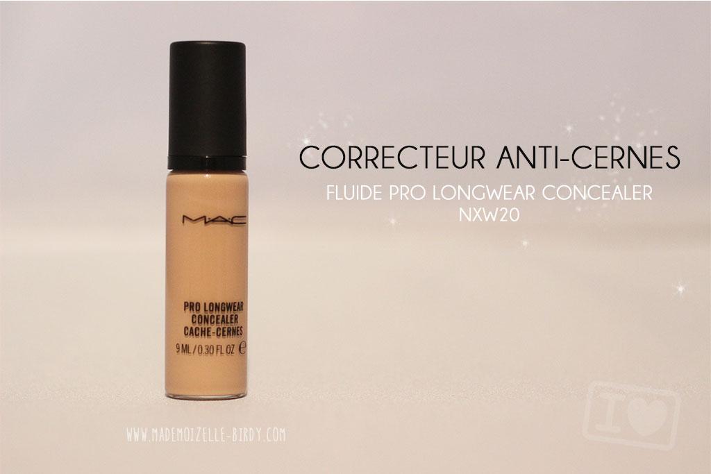 Correcteur-anti-cernes-fluide-Pro-Longwear-Concealer-MAC-mademoizelle-birdy-blogueuse-beaute
