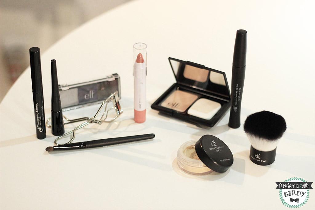 Haul-commande-ELF-ELF-eyes-lips-face-avis-blogueuse-beaute-blog-makeup-pinceau-pas-cher