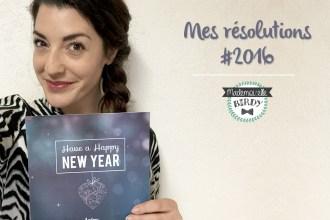 Les résolutions 2016