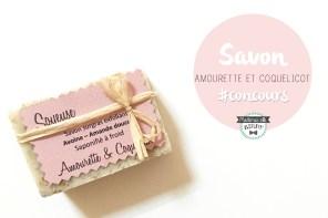 Découverte d'une jeune savonnerie Varoise «Amourette et coquelicot» + Concours