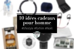 10 idées cadeaux originales pour homme à glisser sous le sapin #blackfriday