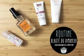 Ma routine beauté du moment : soins du visage