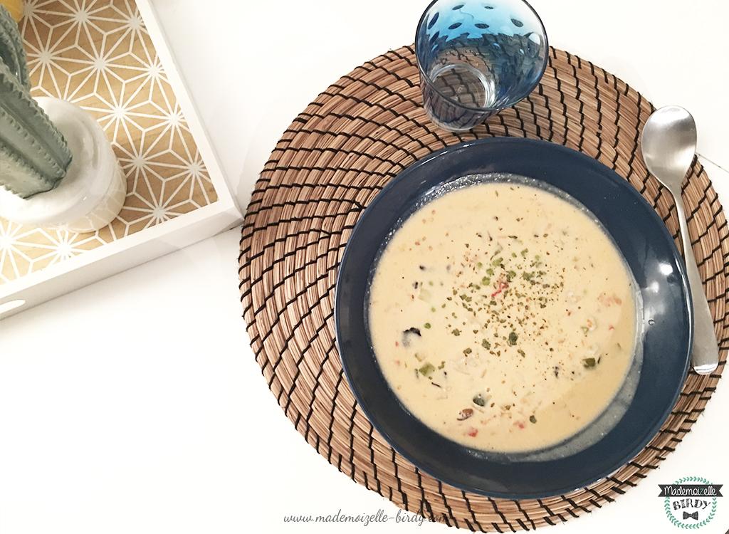 La soupe thaï KitchenDiet