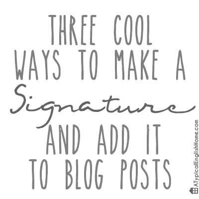 addsignaturetoblogpost