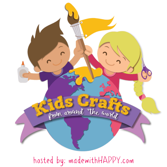 Kids Crafts from Around the World | Kids Craft Series with crafts from different countries around the world. | www.madewithHAPPy.com