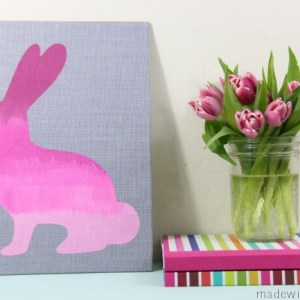 ombre-burlap-bunny