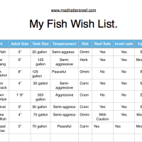 names of saltwater fish - Saltwater Fish Identification Chart
