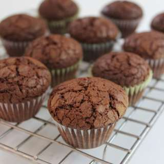 Nutella brownie Cupcakess