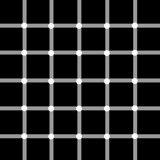 3. Can you count the grey dots?